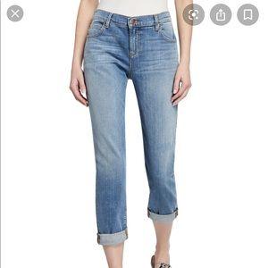 Eileen Fisher Abraded Boyfriend Jeans